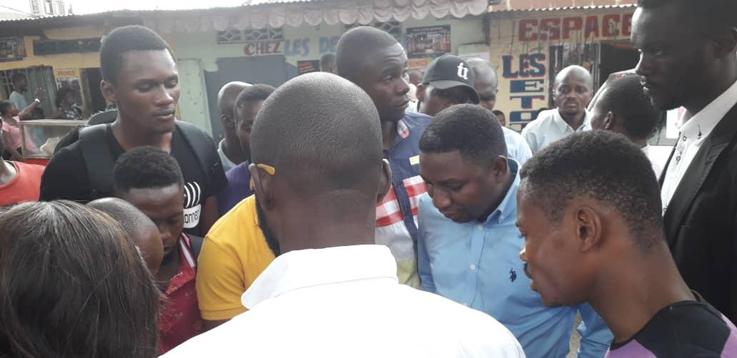 Kinshasa- Dieudonné Nkishi Kazadi assure sa base.