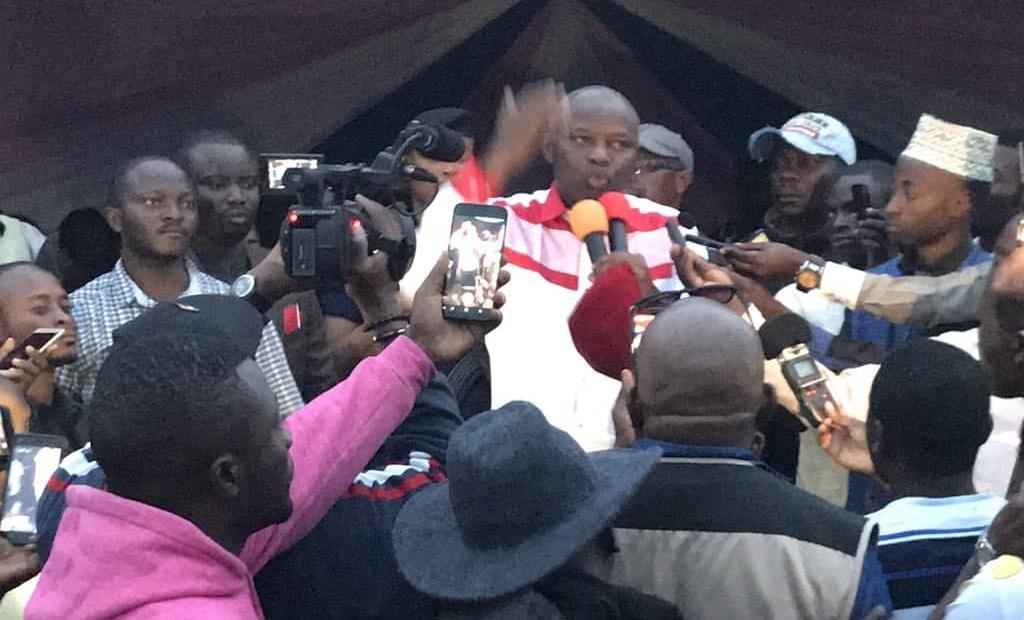 F. Tshisekedi et V. Kamerhe en campagne de proximité à Bunia avant l'arrivée ce mardi à Kisangani