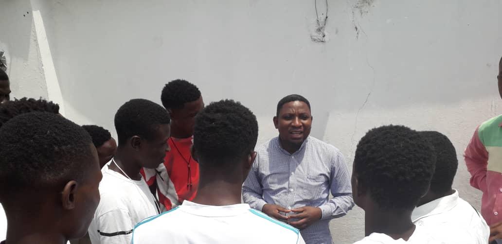 Kinshasa- Dieudonné Nkishi Kazadi transcende les intempéries