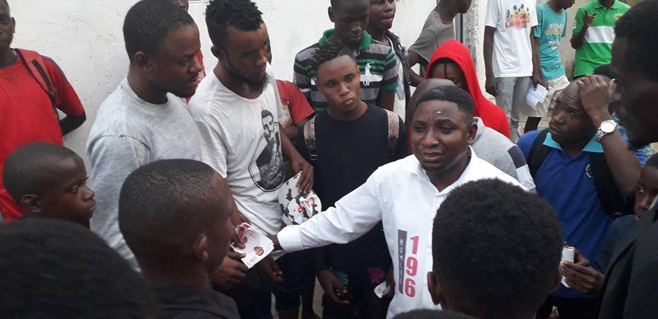 Kinshasa- Dieudonné Nkishi Kazadi, le prototype d'un candidat vierge politiquement.
