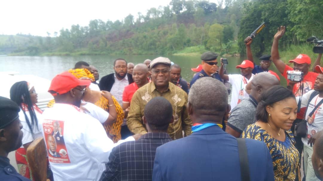 Campagne électorale : Félix Tshisekedi et Vital Kamerhe quittent Bukavu ce dimanche à travers un jet de 20 places pour Bunia et Isiro