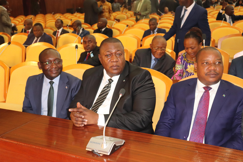 Fofo KONZI à l'hémicycle nationale