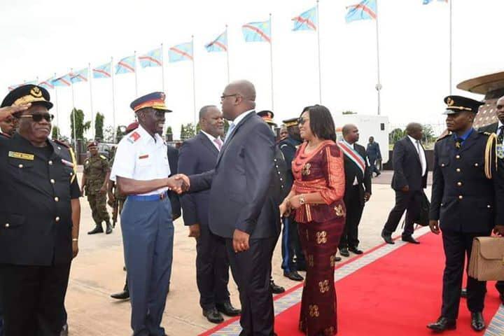 Politique- Présidence de la République : Félix Antoine Tshisekedi Tshilombo en Namibie.