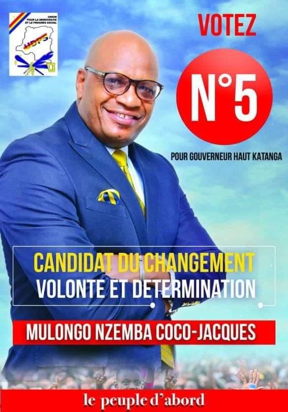 HAUT-KATANGA: Honorable Coco Mulongo se dit non concerné et ne peut désister au profit d'un autre.