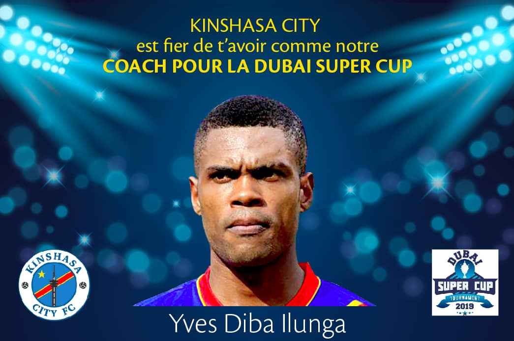 Sport-Football : Yves Diba Ilunga, Parrain de Kinshasa International Cup 2019.