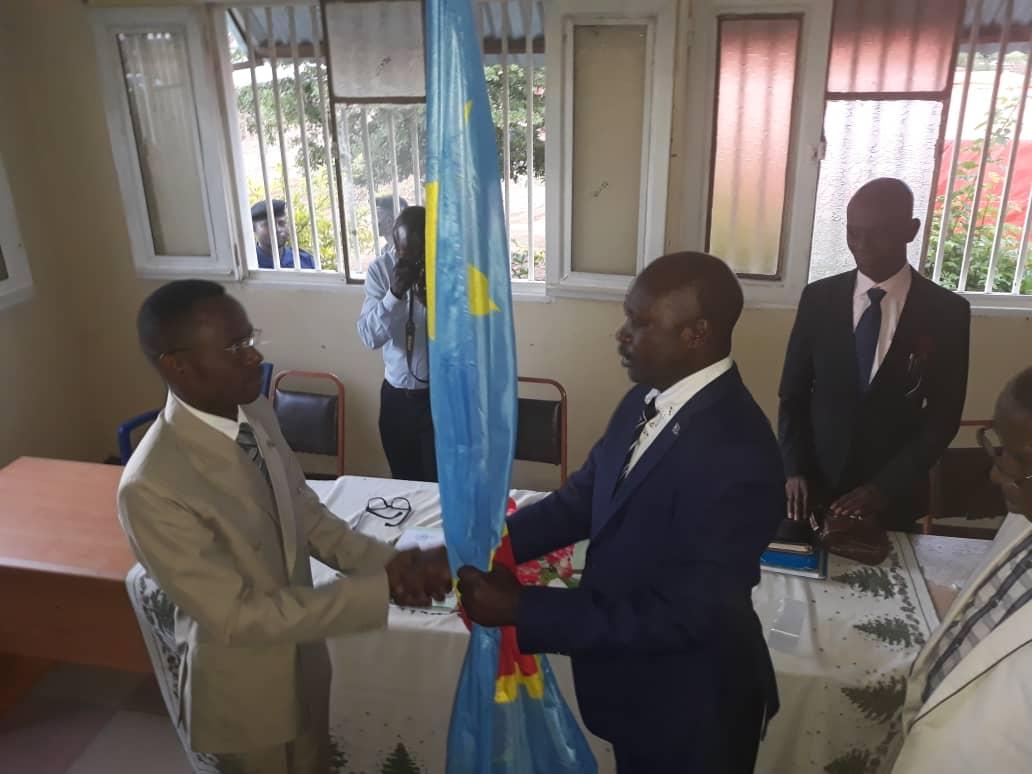 Territoriale-Kasumbalesa : André Kapamba premier maire de la nouvelle ville.