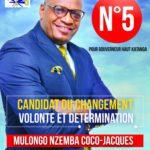 Haut-Katanga/Politique:  Coco Jacques MULONGO,  un facteur X pour le Haut-Katanga ?