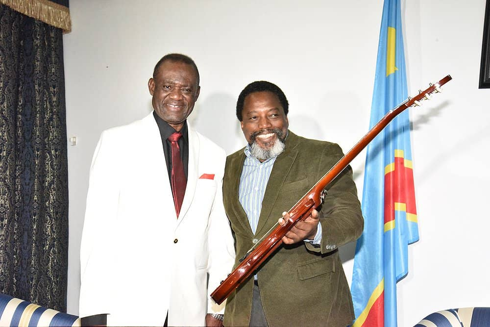 Culture : Félix Antoine Tshisekedi rend hommage à Lutumba Simaro.