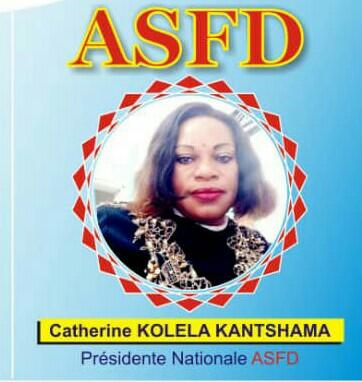 Societé/Haut-katanga :Catherine Katshama Nkolela adhère à la vision de Félix Tshisekedi