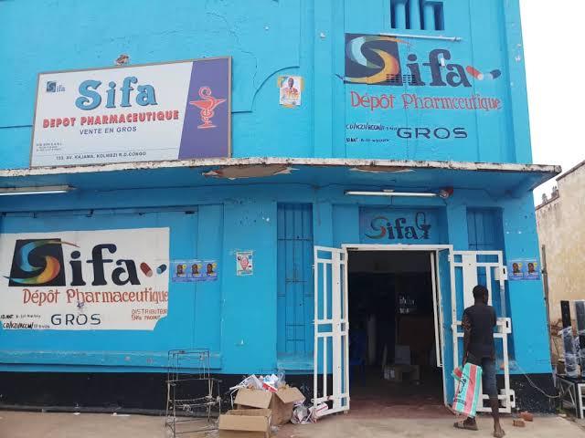 Santé-Lubumbashi : SIFA PHARMA CITE DANS LA VENTE DES PRODUITS PHARMACEUTIQUES PERIMES.