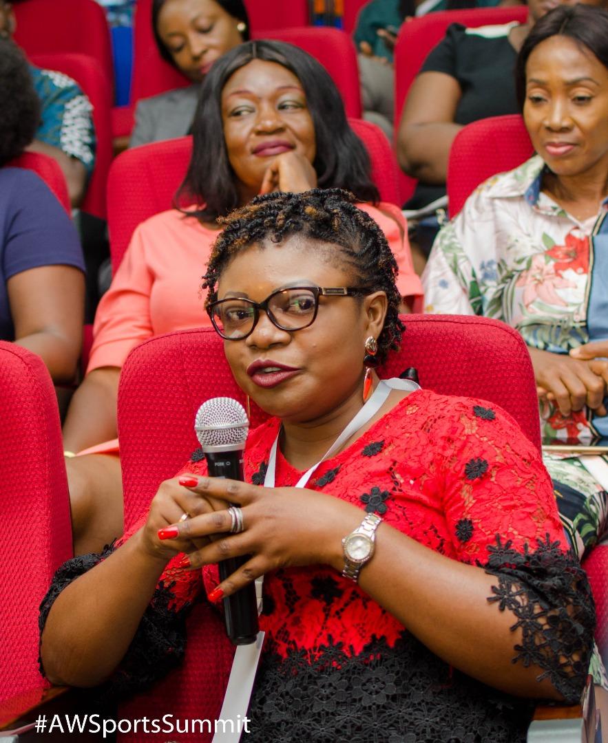 Médias- Sommet des femmes africaines du sport : Francine NKUFI ET Nathalie DIASUKA, les deux ambassadrices de la République Démocratique du Congo.