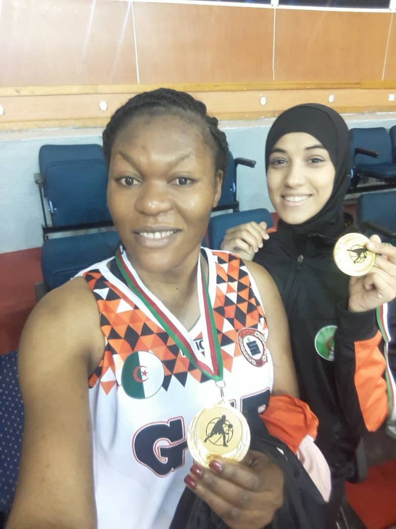 Basket-ball : Mireille Muganza décroche son 3è titre en Algérie