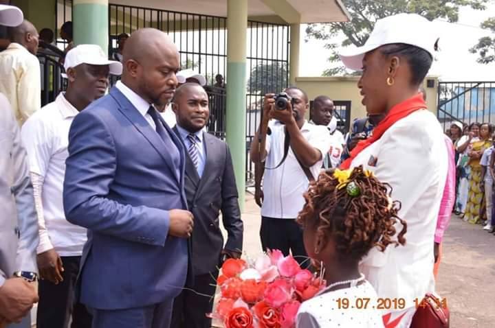 Jeunesse/MANIEMA : Kindu honoré par la visite du président du Forum National de la Jeunesse ( FNJ).
