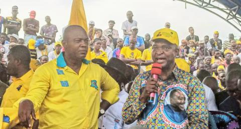 Kinshasa : Gentiny Ngobila Mbaka investi secrétaire exécutif provincial du PPRD.