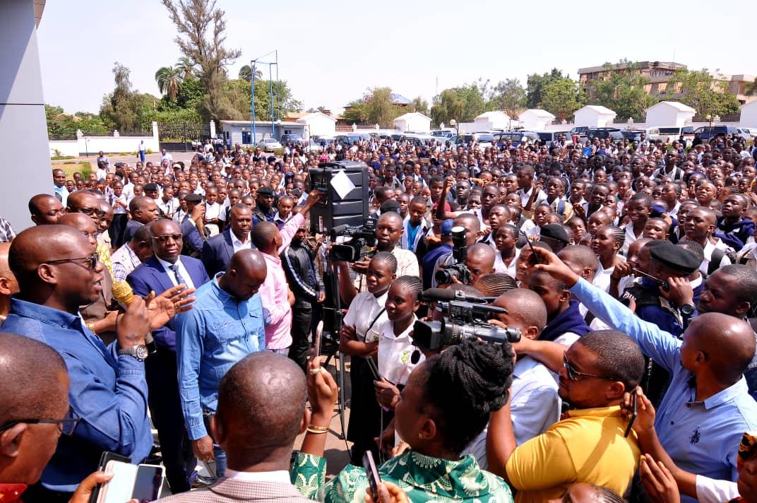 EPST/Haut Katanga-Lubumbashi : Jacques KYABULA apaise les élèves des écoles catholiques en colère contre la gratuité de l'enseignement