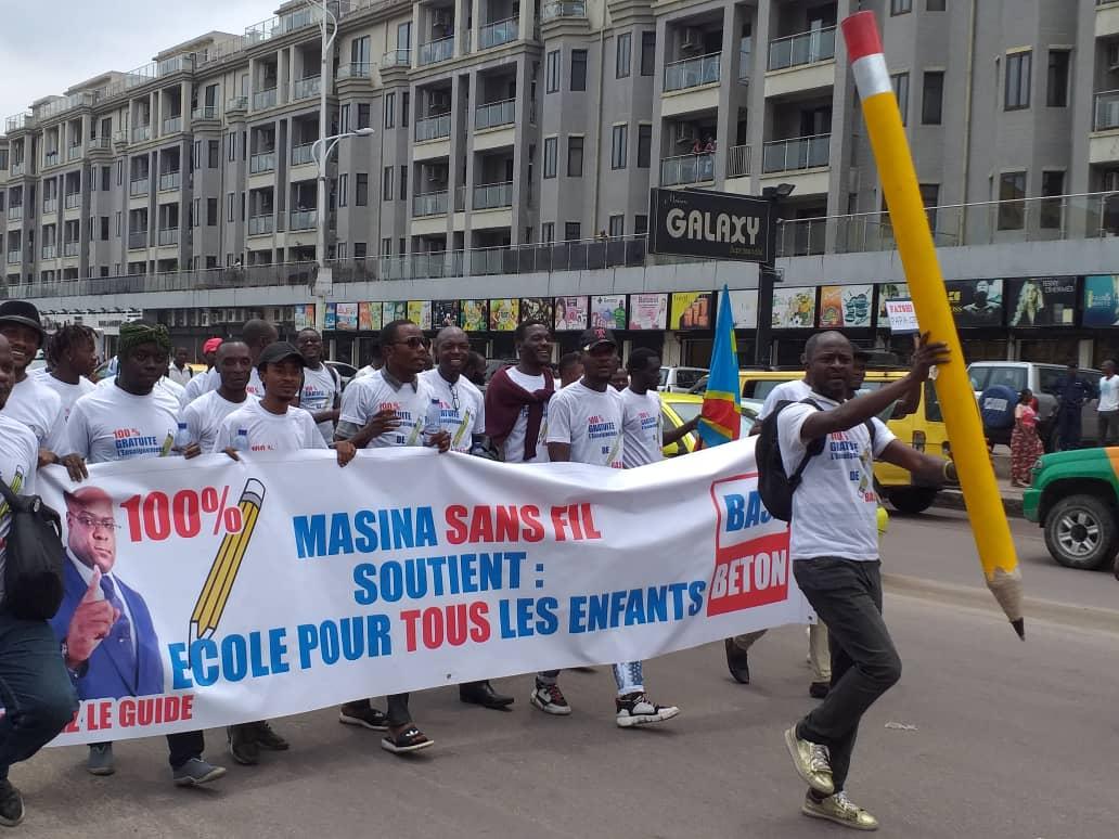 EPST/Gratuité de l'enseignement : Les forces vives de la  Société Civile soutiennent Félix Antoine Tshisekedi.