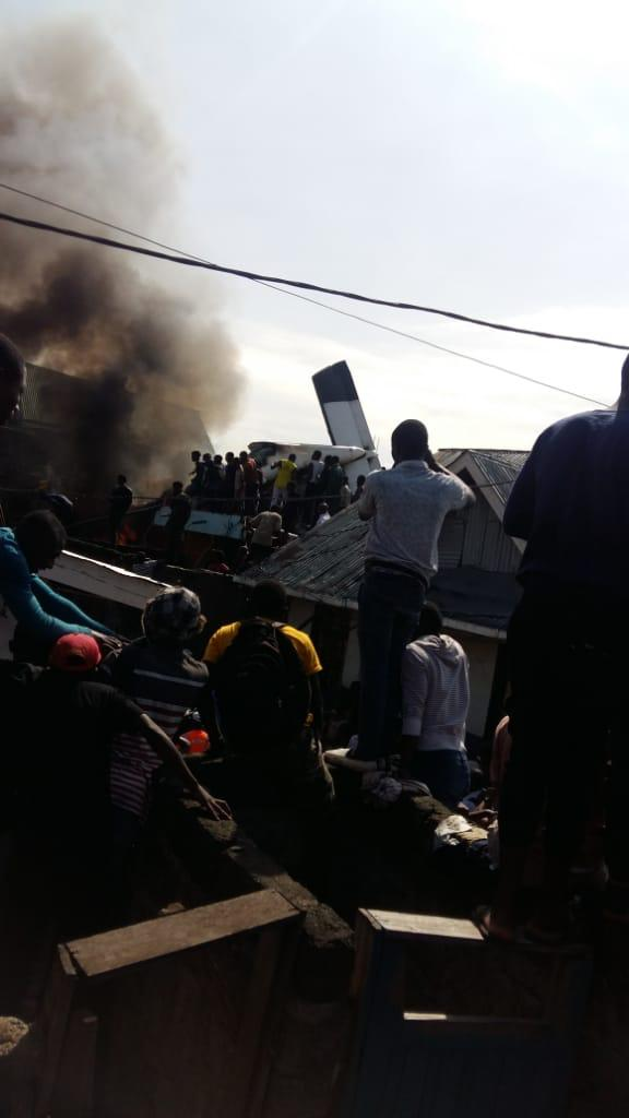 Goma : 17 morts dans un crash d'Antonov.