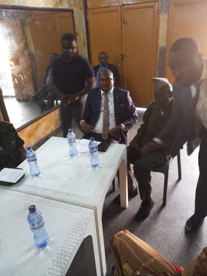 Ministère de la défense/Kinshasa : Me Sylvain Mutombo lance officiellement la semaine des anciens combattants.