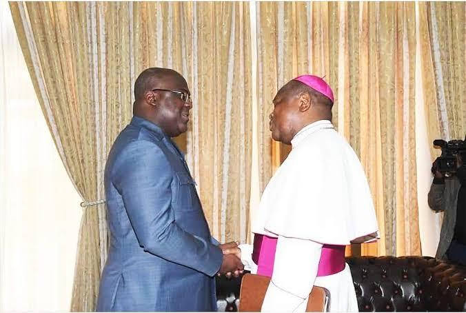 RDC/Eglise catholique : Fridolin Ambongo Besungu soutient les institutions en place.
