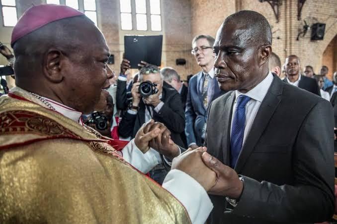 Politique : le Cardinal Ambongo demande à Fayulu de tourner la page.