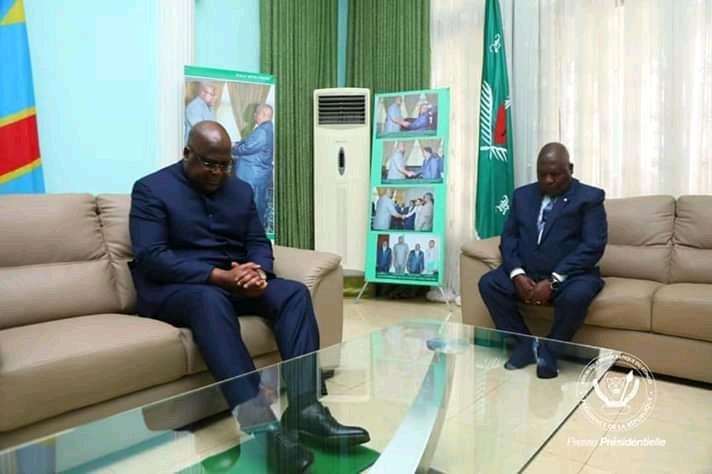 Kongo Central : Nkamba honoré par la visite de Félix Tshisekedi.