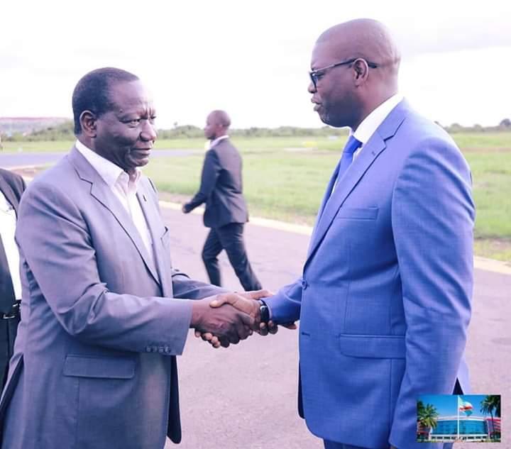 Haut-Katanga/ Lubumbashi : Le premier ministre Sylvestre Ilunga Ilunkamba accueilli en pompe de retour sur ses terres…