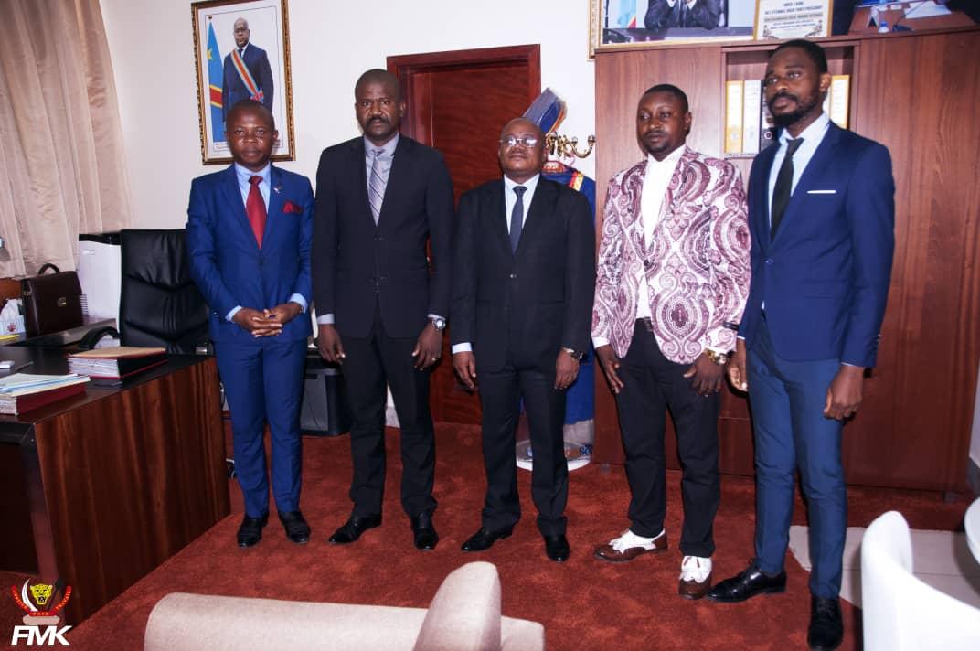 Ministère du budget : Le Conseil National de la Jeunesse reçu par le vice-ministre.
