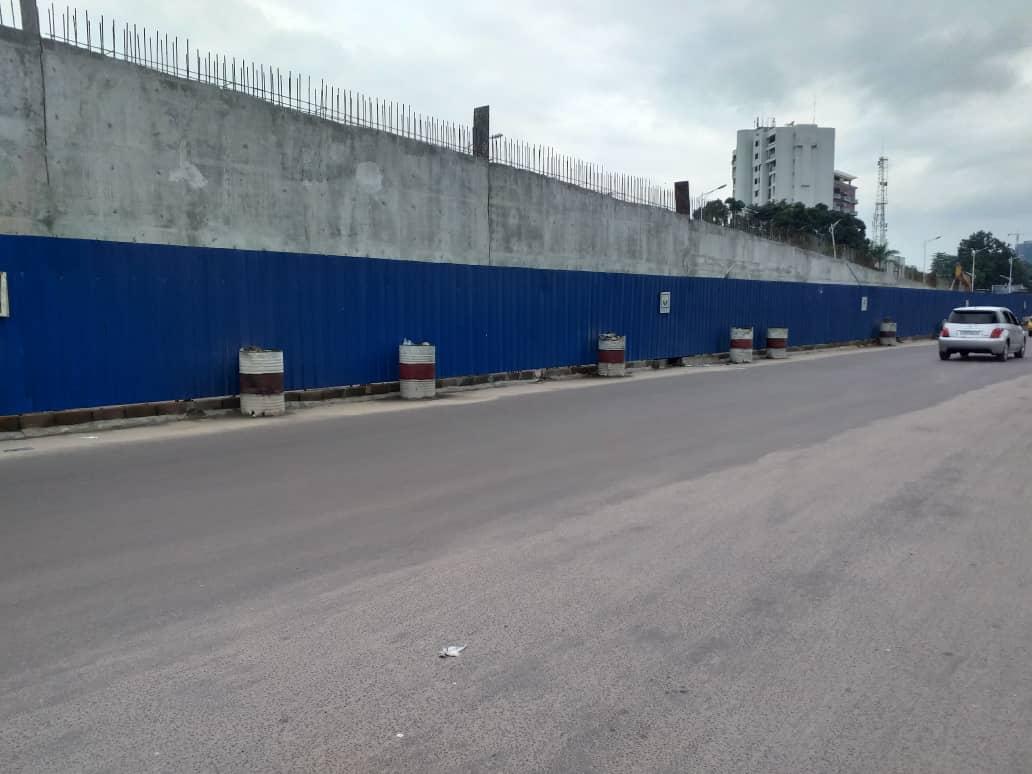 Kinshasa :  Le boulevard du 30 Juin coupé en deux pour ce 05 Janvier
