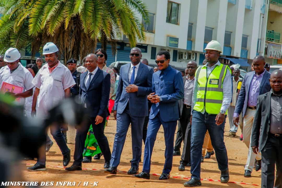 Haut-Katanga/ Lubumbashi : Première visite d'inspection de l'année des chantiers par Jacques Kyabula Katwe