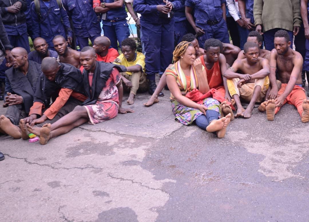 Haut-Katanga/ Insécurité : Une cinquantaine des malfrats présentés au gouverneur.