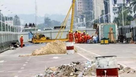 Kinshasa / Construction saut de mouton : Nouvelle fermeture du boulevard du 30 juin au niveau de la place Mandela le dimanche 12 janvier.