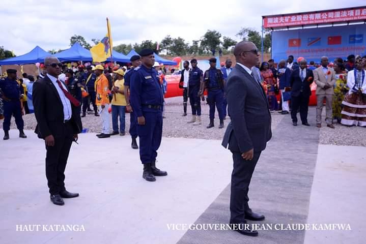 Haut-Katanga/Kambove : Jean-Claude KAMFWA lance le projet des usines hydrométallurgiques.