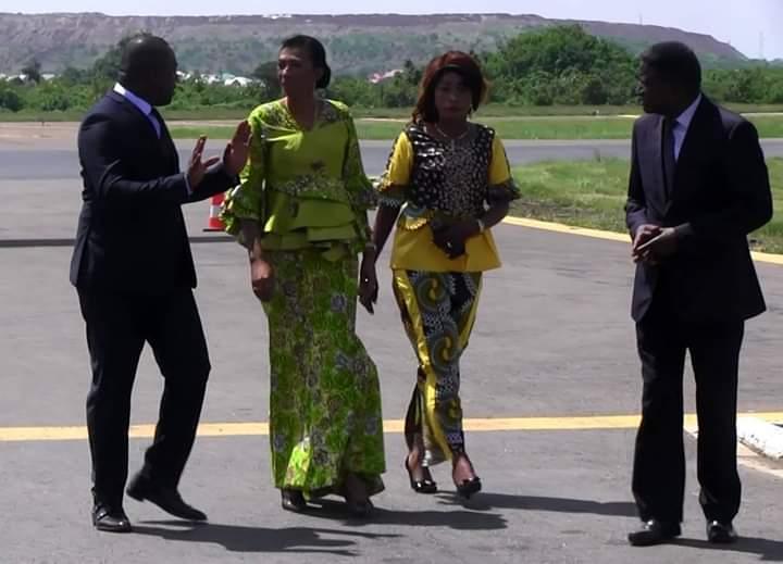 Haut-Katanga : Jeannine Mabunda de nouveau en visite à Lubumbashi