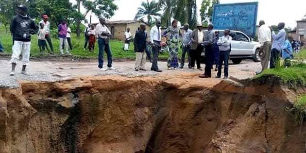 Lomami/ Mwene-Ditu : Les travaux anti-érosifs du ravin Bulelelaau cœur d'une dispute.
