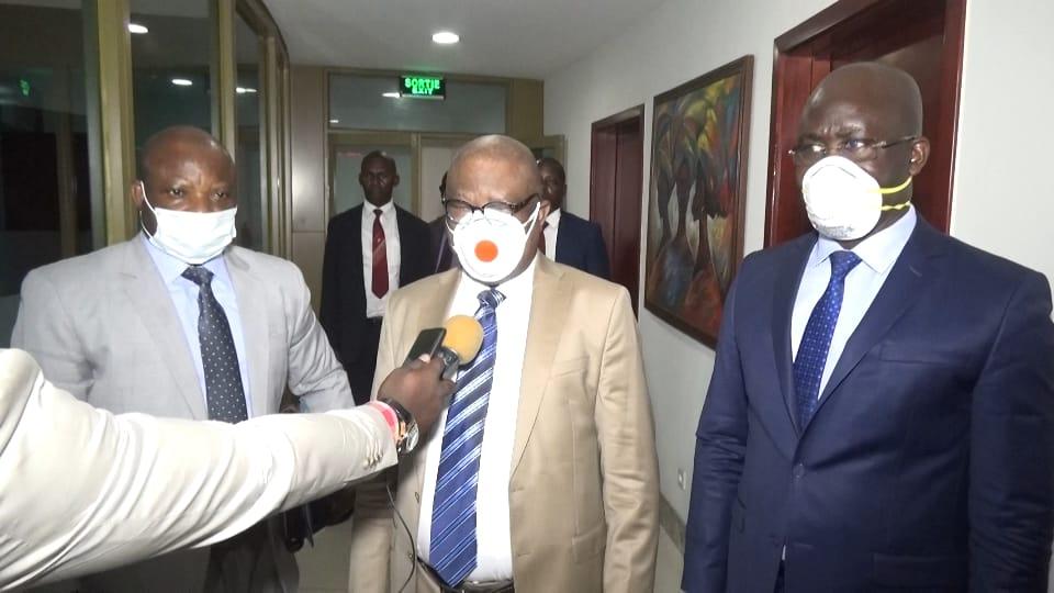 Lutte contre Coronavirus/Ministère de budget : Jean-Baudouin Mayo et ses collègues réfléchissent sur l'acquisition des produits de première nécessité
