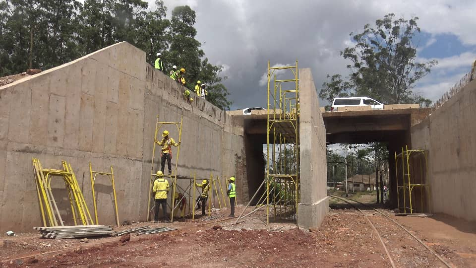 Kolwezi : Les travaux du tunnel en Phase de finissage.