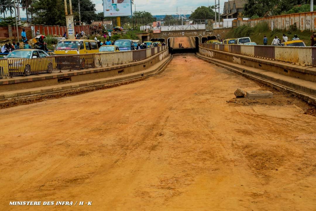 Lubumbashi : Le tunnel du Bel Air bientôt réouvert à la circulation.