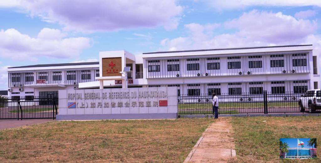 Haut-Katanga : Jacques  Kyabula Katwe visite l'hôpital Général de référence du Haut-Katanga.
