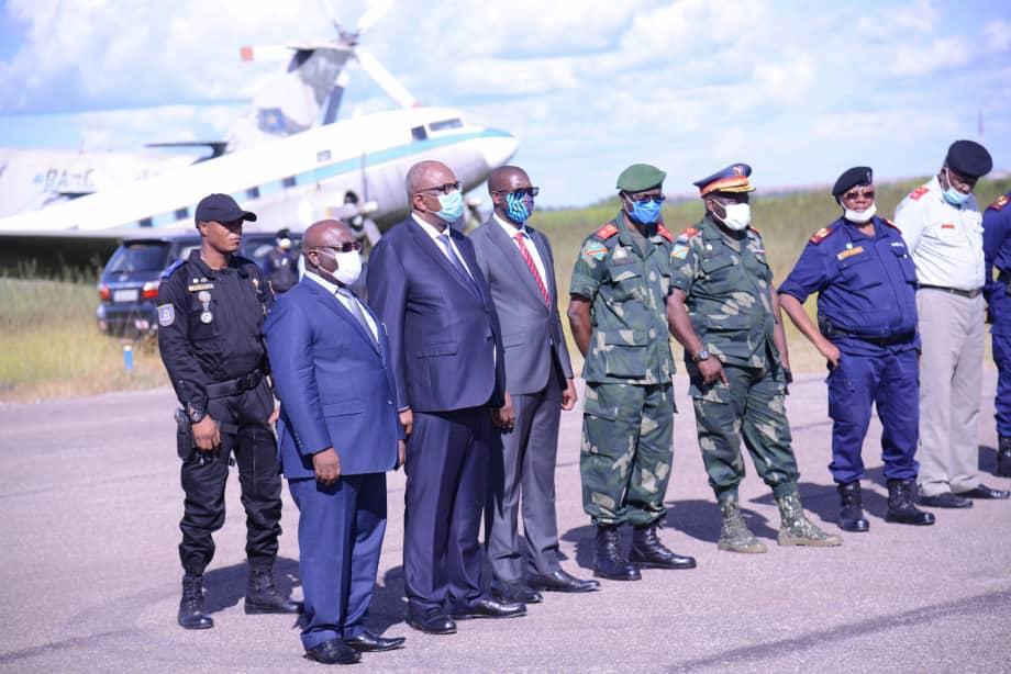 Haut-Katanga : 480 militaires et policiers en situation irrégulière détachés pour Kamina.