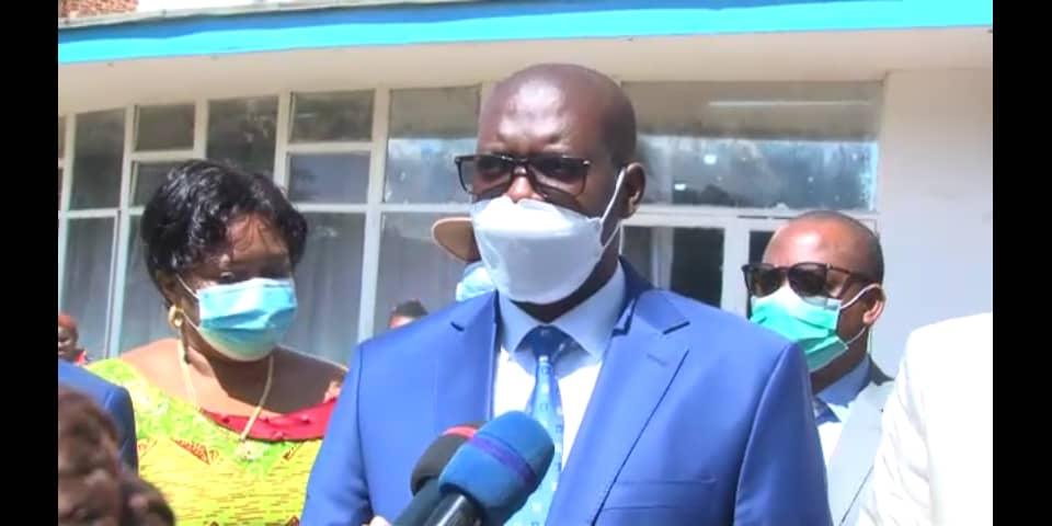 Haut-Katanga : Échanges entre l'exécutif et l'organe délibérant