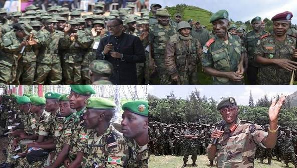 Invasion Rwandaise sur le territoire congolais.