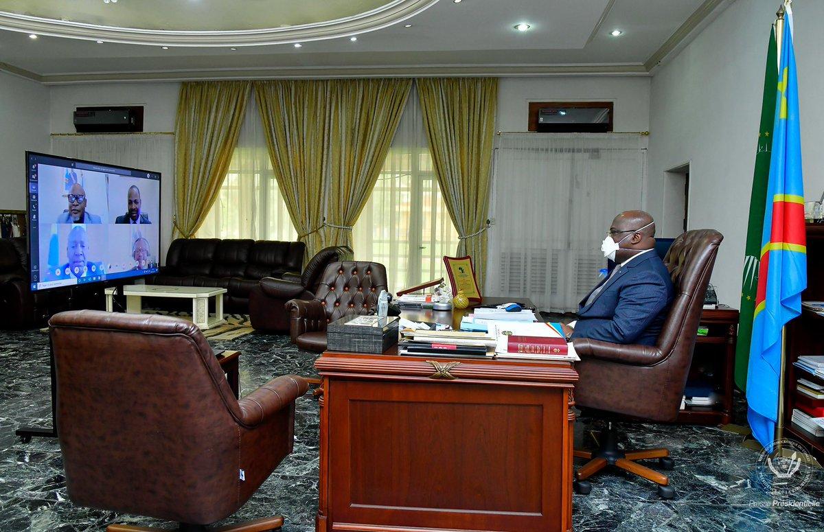 Présidence de la République : Le Chef de l'Etat, Félix- Antoine Tshisekedi a présidé ce vendredi 22 mai la 32ème réunion du conseil des ministres.