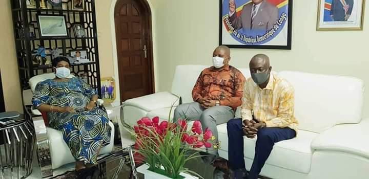UDPS : Marthe Kasalu Tshisekedi encourage les dirigeants du parti présidentiel à tenir bon.