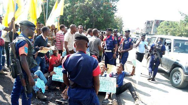 Enseignement Primaire Secondaire et Technique/Goma :  La marche des enseignants revendiquant le payement des Nouvelles Unités étouffée par les éléments de la PNC.