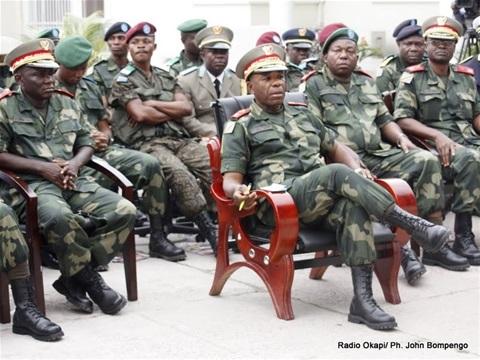 FARDC : Une vingtaine de généraux renvoyée à la retraite par Félix Antoine Tshisekedi