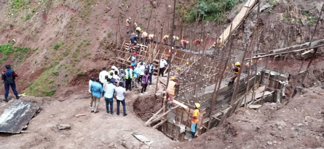 Sud-Kivu/Bukavu : Les travaux de la voirie Urbaine en bonne évolution.
