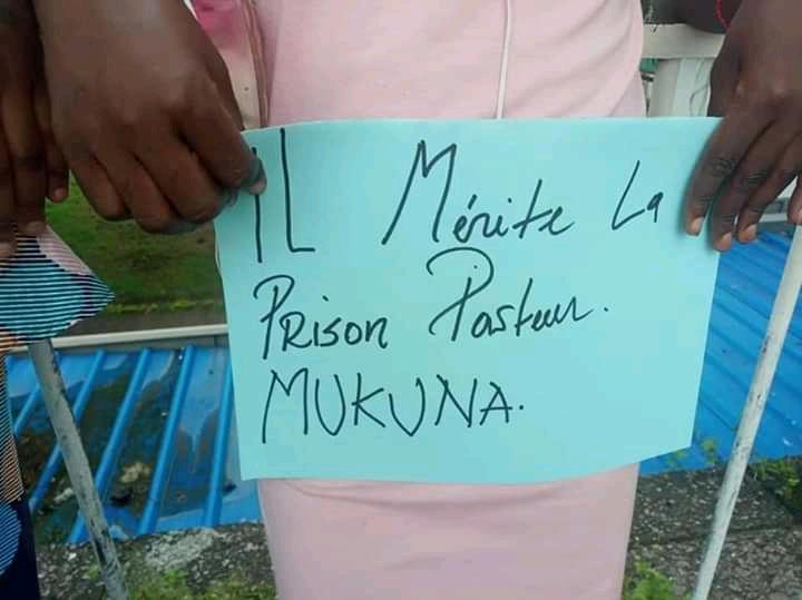 Procès Évêque Mukuna : Les femmes de certains mouvements citoyens demandent l'arrestation du prélat.