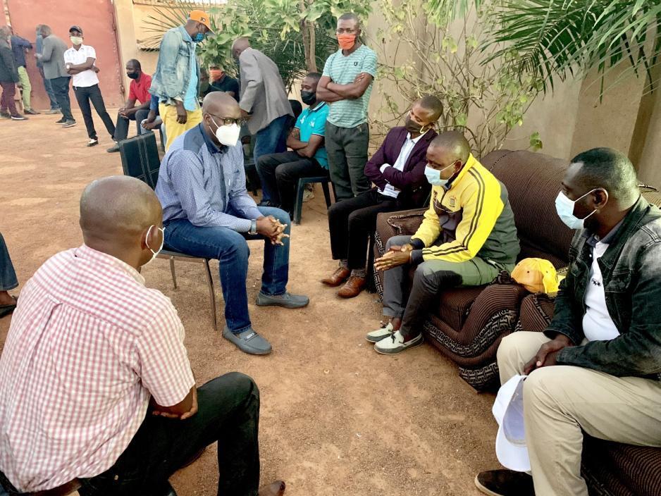 Lubumbashi/Banditisme urbain : Jacques Kyabula Katwe au chevet ďes proches des victimes