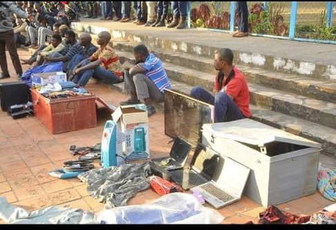 Haut-Katanga/Insécurité Zéro : Joli coup de filet des services de sécurité lushois, des malfrats pris dans le sac.