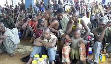 Haut-Katanga/Likasi : Le gouvernement Kyabula au secours des prisonniers de Buluo internés à l'hôpital Daco.